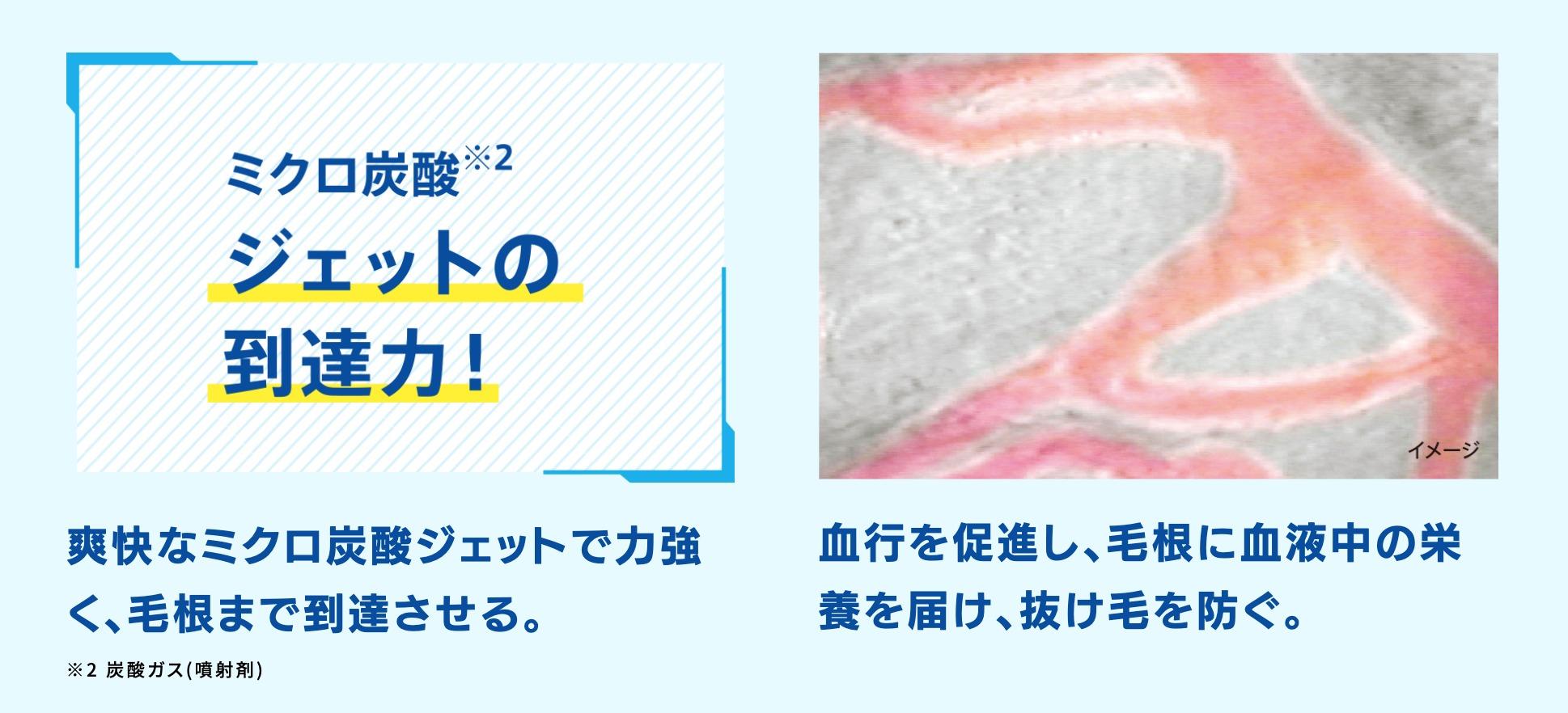 サクセス ミクロ炭酸ジェット